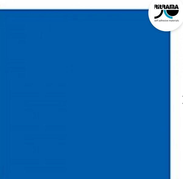 Vivid Blue Vinyl - RI366