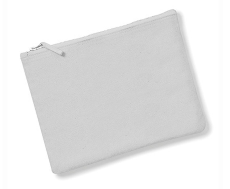 Canvas Accessory Case - Light Grey - M