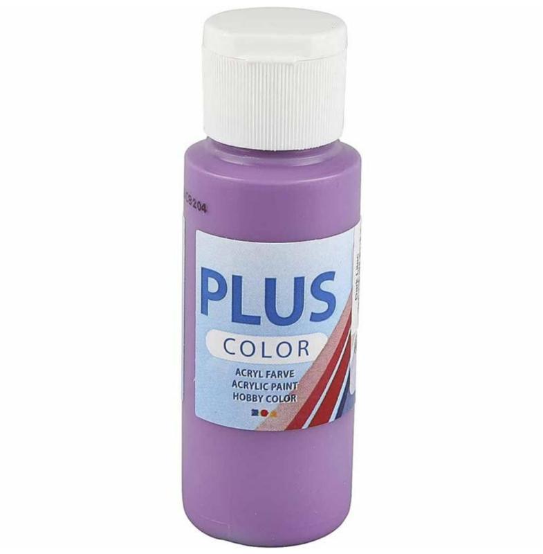 Plus Color acrylverf - Dark Lilac / 60 ml