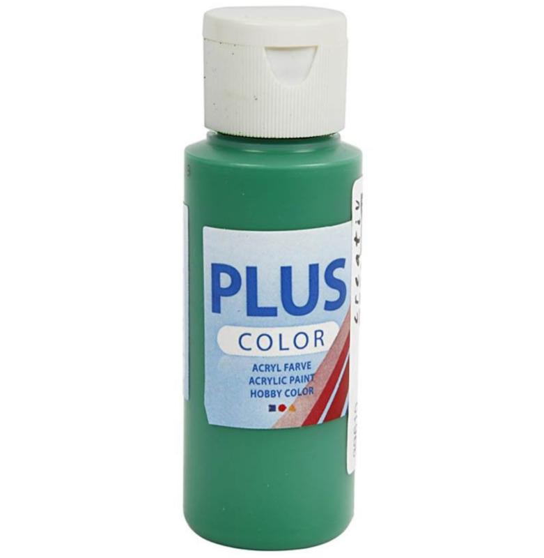 Plus Color acrylverf - Brilliant Green / 60 ml
