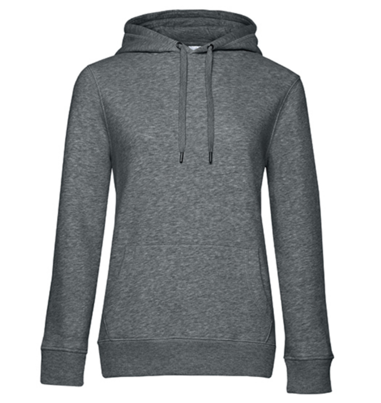 Queen Hoodie - Heather Mid Grey