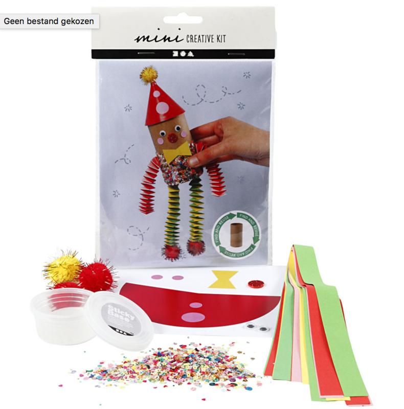 Mini Creative Kit - Toiletrol Clown