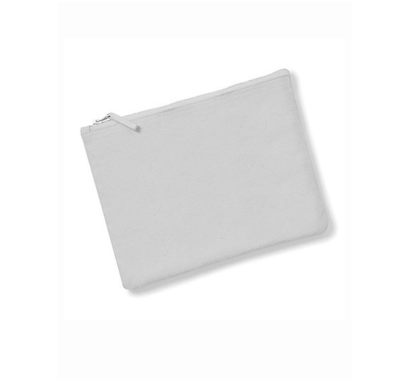 Canvas Accessory Case - Light Grey - XS