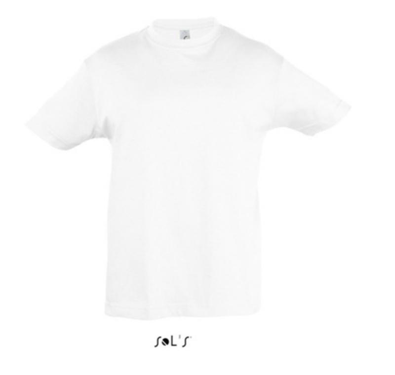 Kids T-shirt - White