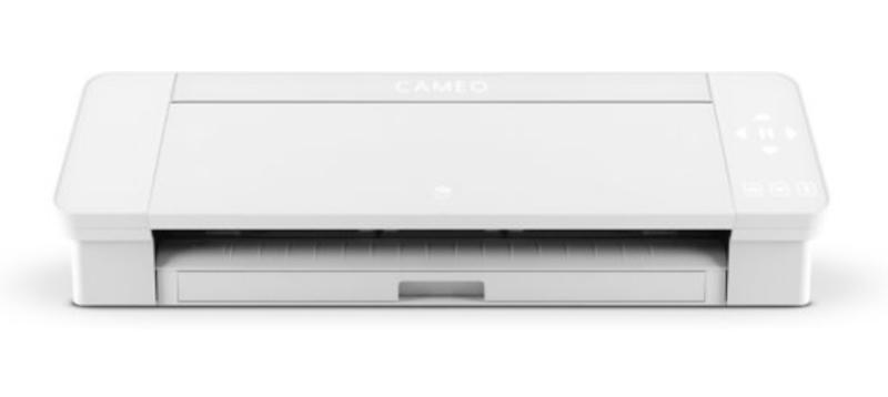 """Cameo 4 WIT - inclusief startmaterialen & handleiding """"mijn eerste cameo project"""""""