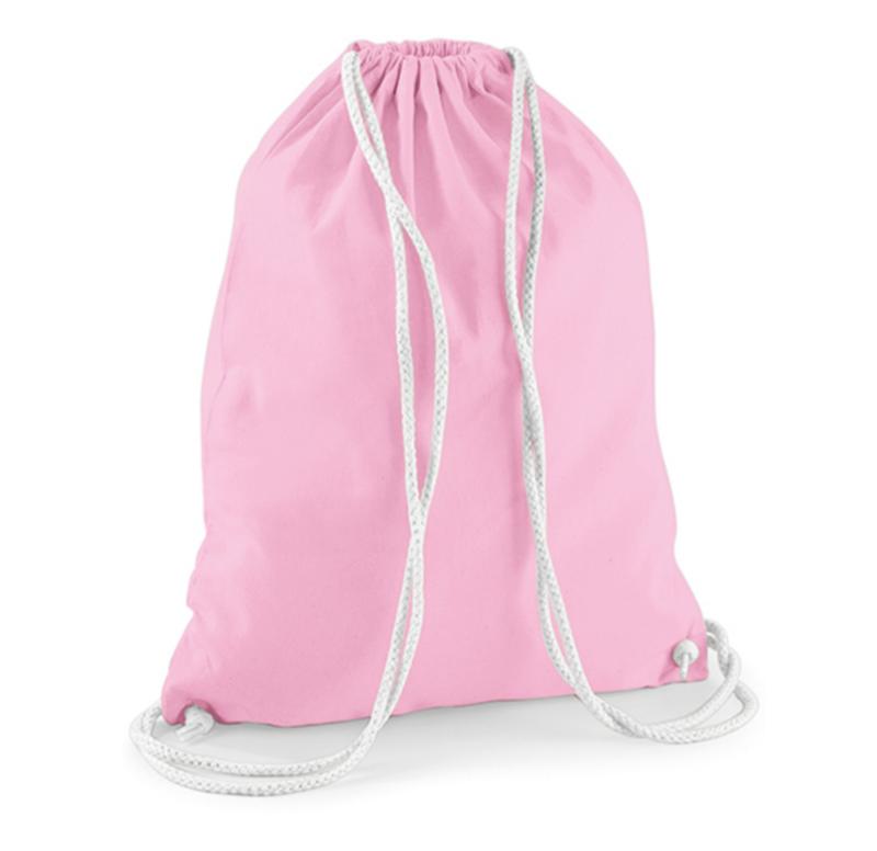 Turnzak katoen - Classic Pink/White