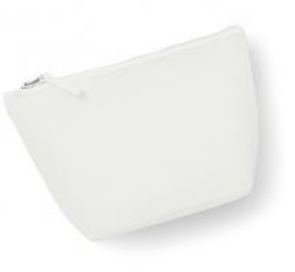Canvas Accessory Bag - Off White - S