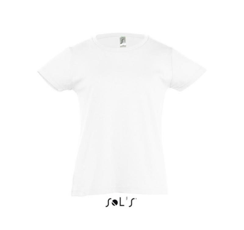 Girls T-shirt - White