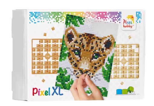 Pixel XL pakket op 4 basisplaten - Jungle Luipaard