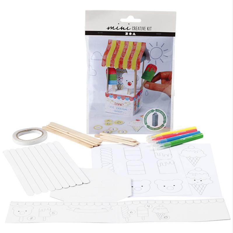 Mini Creative Kit - Melkpak Ijssalon