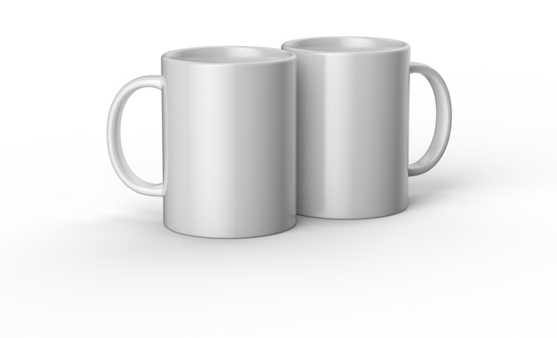 Cricut mug white 425ml - 15oz (2 stuks)