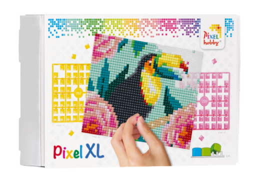 Pixel XL pakket op 4 basisplaten - Toekan  B