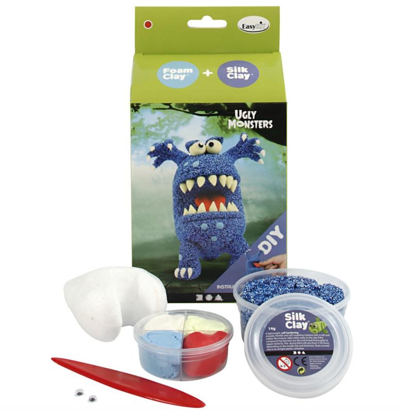 Monster - DIY blauw monster