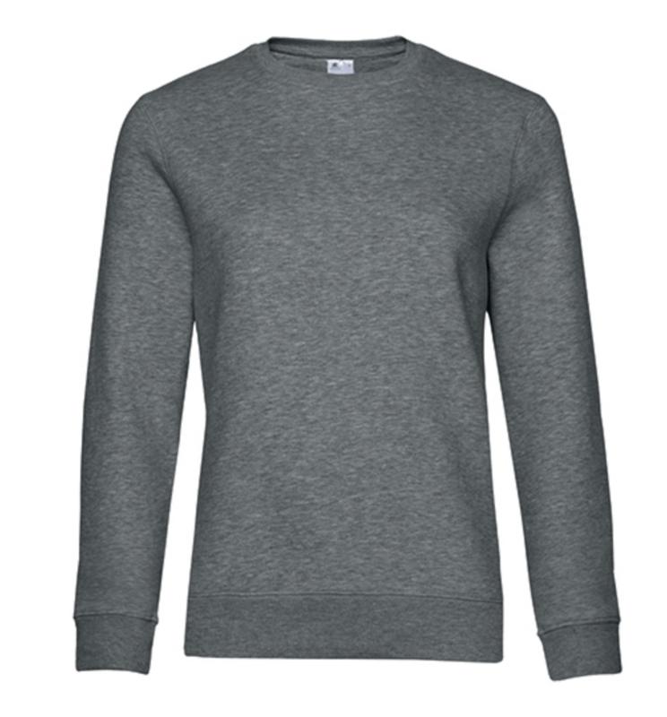 Queen Sweater - Heather Mid Grey