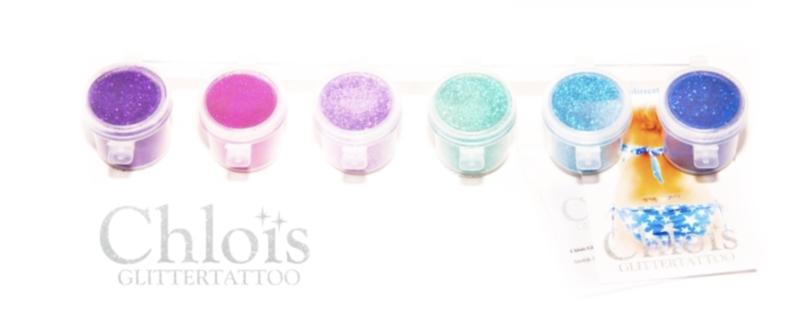 Chloïs Glitter Combipack Cool 6x10ml