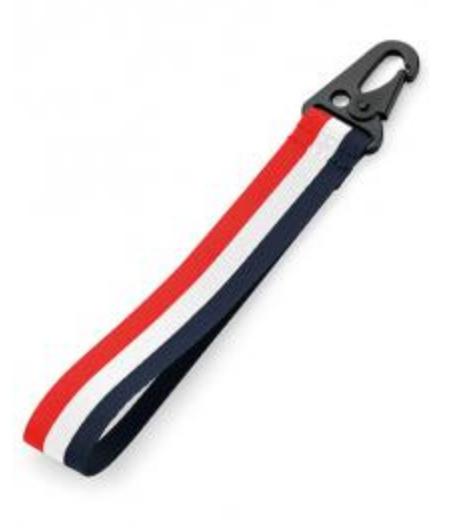 Key Clip - red/white/navy