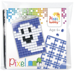 Pixel sleutelhanger - Lachend Spookje