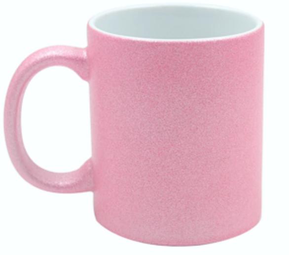 Sublimatiemok Glitter Pink