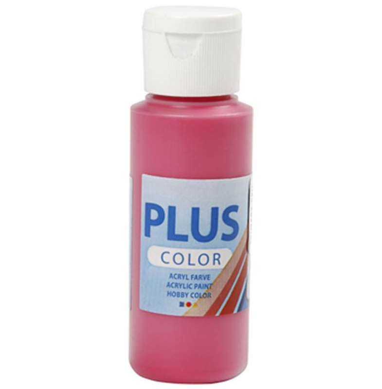 Plus Color acrylverf -  Primary Red / 60 ml