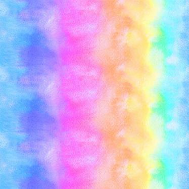 Siser Easy Pattern - Watercolor Rainbow (30cmx50cm) + TTD