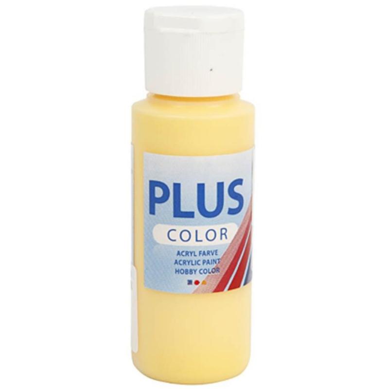 Plus Color acrylverf - Crocus Yellow / 60 ml