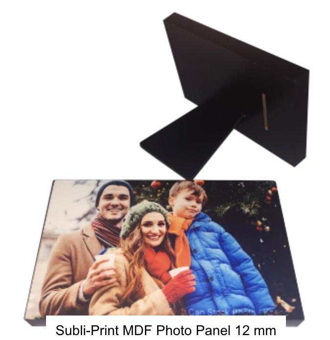 MDF Photo Panel  Rectangle 12mm met staander