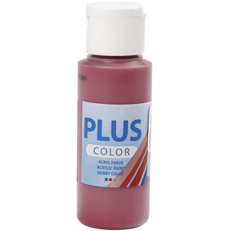 Plus Color acrylverf -  Antique Red / 60 ml