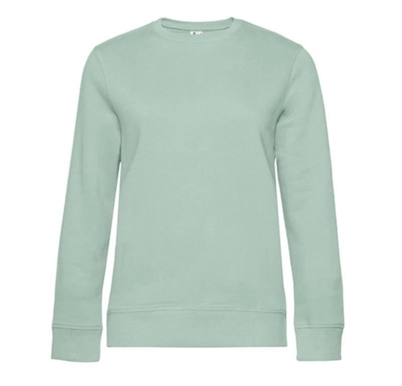 Queen Sweater - Aqua Green