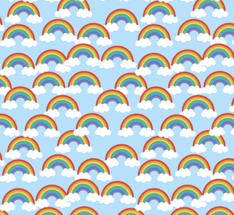 Siser Easy Pattern - Lucky Rainbow (30cmx50cm) + TTD
