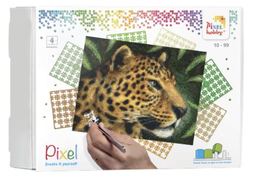 Pixel KIT - 4 basisplaten Panter
