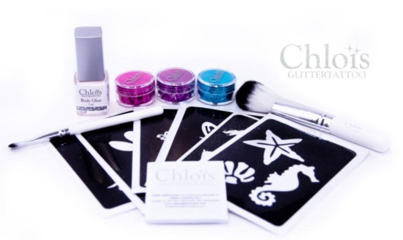 Chloïs Tryout Glittertattooset Girl