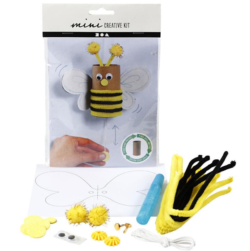 Mini Creative Kit - Toiletrol Bungelende Bij