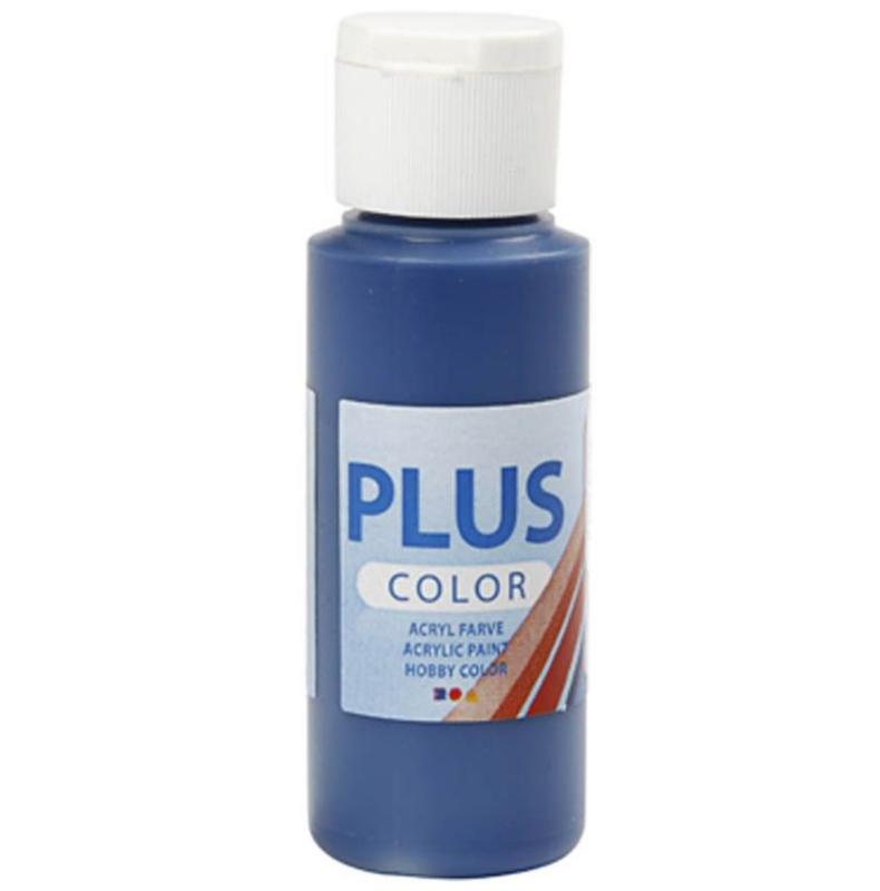 Plus Color acrylverf - Navy Blue / 60 ml