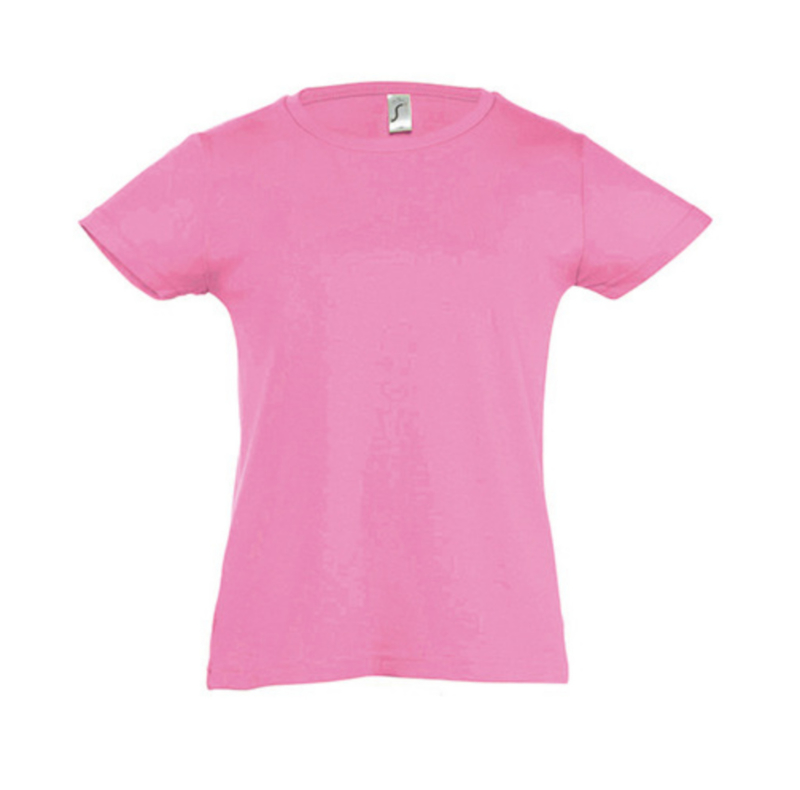 Girls T-shirt - Orchid Pink