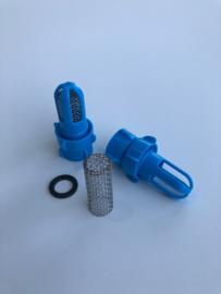 Waterbed adapter met zeef