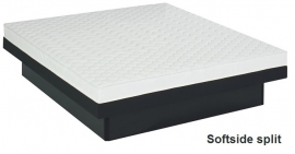 Waterbed compleet split-level mono