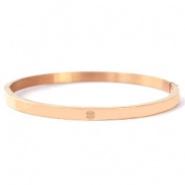 Rosé quote armband