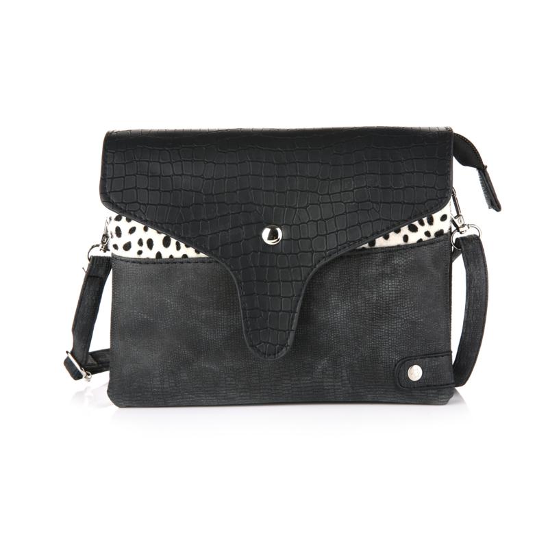 Cheetah tas zwart