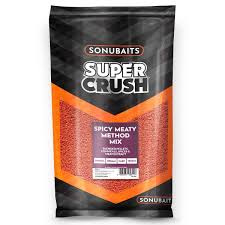 Sonubaits Super Crush Spicy Meaty Method mix 2kg