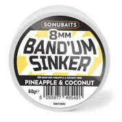Sonubaits Pineapple & Coconut  Band'um Sinkers 8mm
