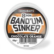 Sonubaits Chocolate Orange Band'um Sinkers 8mm