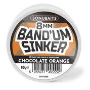 Sonubaits Chocolate Orange Band'um Sinkers 8mm
