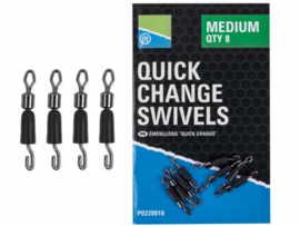 Preston Quick Change Swivels