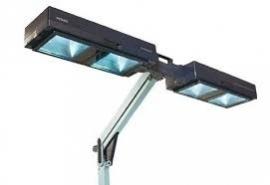Inklapbare zonnehemel 4 lamps