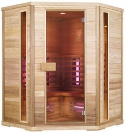 Infrarood hoek sauna 150 x 150  3-4 pers