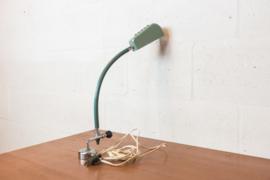 Exclusieve industriële bureaulamp gehamerd metaal met magneet