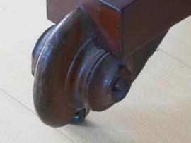 Opklapbare mahonie tafel