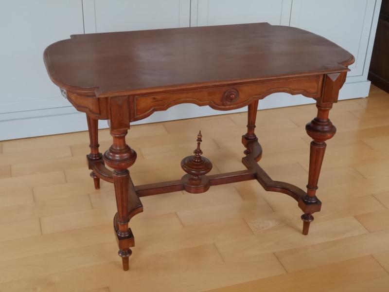 Mahonie Willem III-stijl tafel