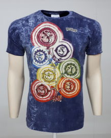 No Time T-Shirt Chakra Blue