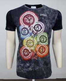 No Time T-Shirt Chakra Black